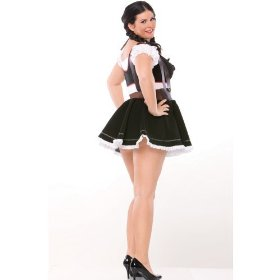 Beer maiden adult plus costume