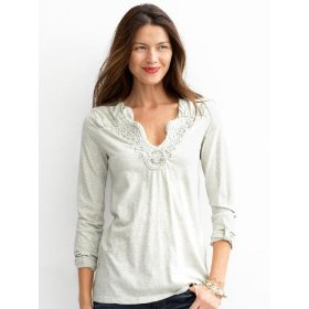 Banana republic melinda scroll tunic