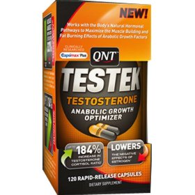 Qnt international testek, testostterone, 120-count