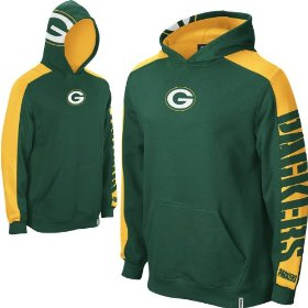 Reebok green bay packers boys (4-7) powerhouse hooded fleece