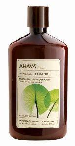 Ahava Mineral Botanic Velvet Cream Wash - Water Lily & Guarana