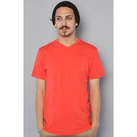 Nixon the tee vee marle in red,t-shirts for men