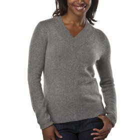 Merona® women's cashmere sweater - heather grey