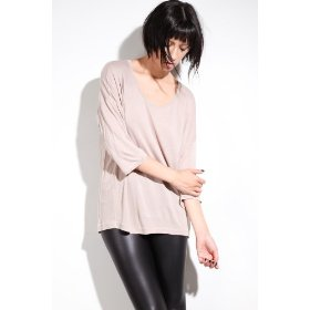 Cheap monday the ella plain top in clay,tops (s/s) for women