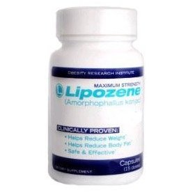 Lipozene original maximum strength weight loss formula, 60 capsules