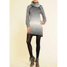 Mango women's chunky knitted dress
