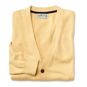 Cotton/cashmere cardigan