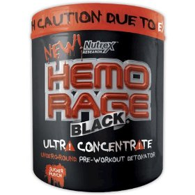 Nutrex hemo rage black, ultra concentrate, bruisin berry, 10.32-ounce