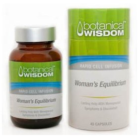 Botanical wisdom - women's equilibrium 45 capsules (lasting help with menopausal symptoms and di