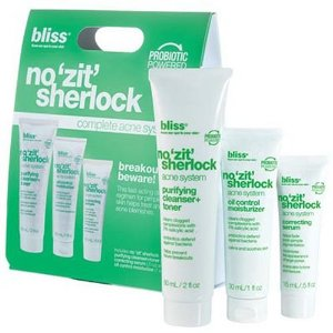 Bliss No 'Zit' Sherlock Complete Acne System, 1 ea