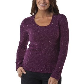 Merona® women's scoop neck pullover sweater - berry