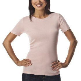 Merona® ultimate women's crew neck tee - pink metal
