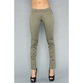 Rvca the dem ii pant in military green,pants for women