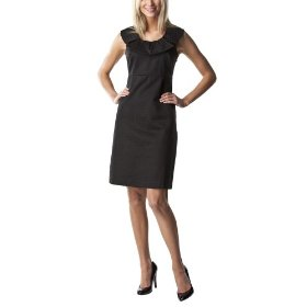 Merona® collection women's zoe dot sleeveless dress - black