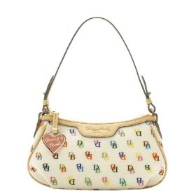 Dooney & bourke shiny it collection patty pouchette