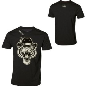 Rvca tiger gang t-shirt - short-sleeve - men's