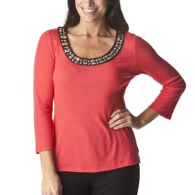 Merona® collection women's wynne knit top - lollipop red
