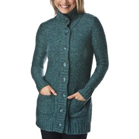 Merona® women's button cardigan sweater - blue combo