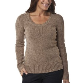 Merona® women's scoop neck pullover sweater - brown