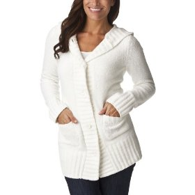 Merona® women's chenille hoodie sweater - polar bear