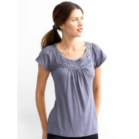 Banana republic karine necklace tee