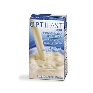 Optifast 800 vanilla ready to drink shake 1 case (27 cartons)