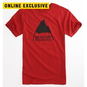 Burton mountain logo tee