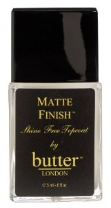Butter London Matte Finish, .6 Ounce
