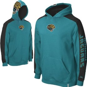 Reebok jacksonville jaguars boys (4-7) powerhouse hooded fleece