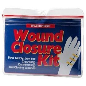 Adventure medical kit wound closure medic