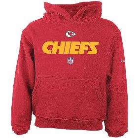 Reebok kansas city chiefs boys (4-7) lockup hooded fleece