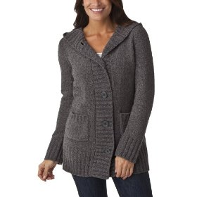 Merona® women's chenille hoodie sweater - heather grey