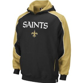 Reebok new orleans saints boys (4-7) arena sweatshirt