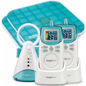 Angelcare baby movement and sound monitor delux plus, blue