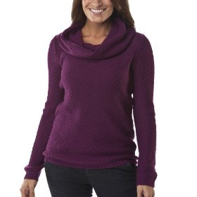 Merona® women's great stitch pullover sweater - plump plum