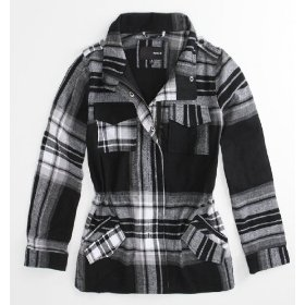 Hurley jamison plaid jacket