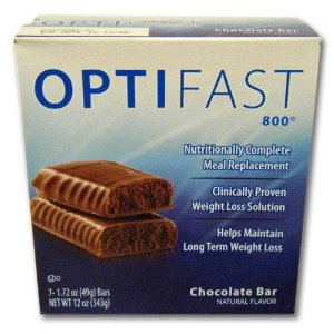 Optifast 800 Chocolate Meal Replacement Bars