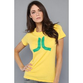 Wesc the icon organic tee in royal yellow,t-shirts for women