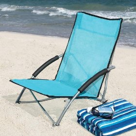 Quick-dry mesh beach chair