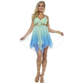 Zodiac goddess adult costume
