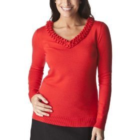 Merona® collection women's cathy pullover sweater - red