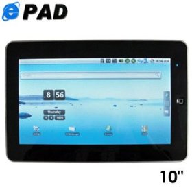 Android 10-inch tablet pc with wifi and high quality movie viewing!