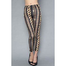 Joyrich the chain linked leggings,leggings for women