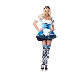 Sexy magic mushroom alice womens halloween costume