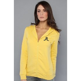 Wesc the overlay zip hoody in royal yellow hood ,sweatshirts for women