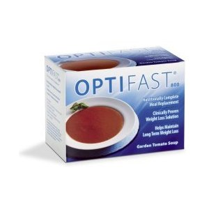 Optifast 800 garden tomato powder soup 1 carton (7 packets)