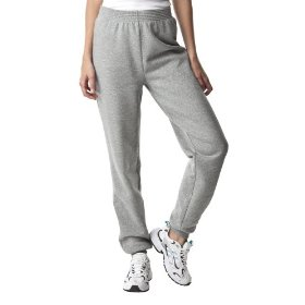 Cherokee® women's basic fleece sweatpant - heather grey