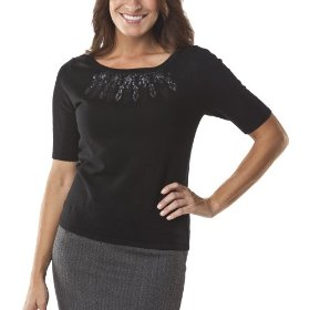 Merona® collection women's meera sweater - black