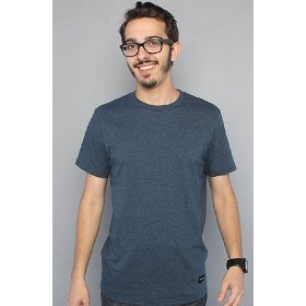 Nixon the tee marle in black,t-shirts for men