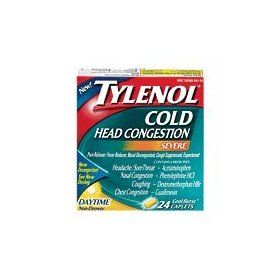 Tylenol cold head congestion 24ct